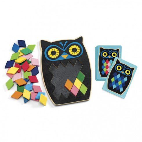 Képkirakó színes mozaik- Mos Boo