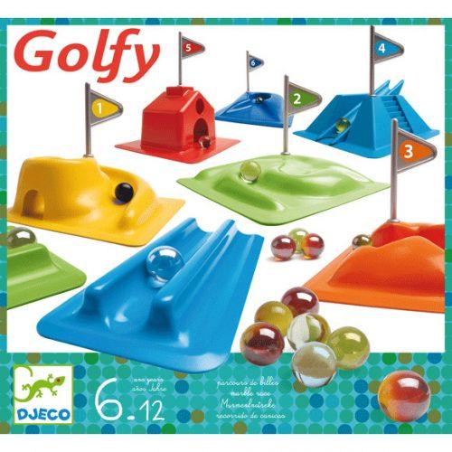 Társajáték- Mini golf- Golfy