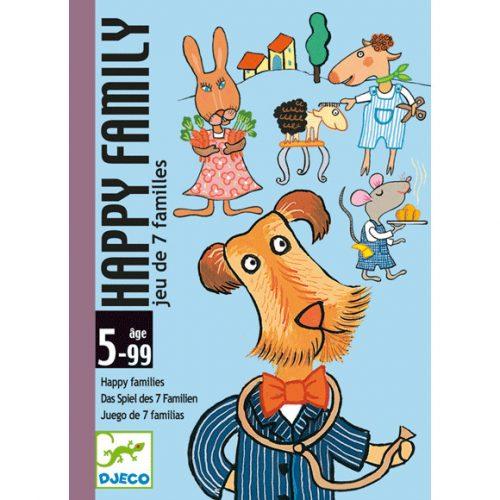 Kártyajáték - Boldog család - Happy family