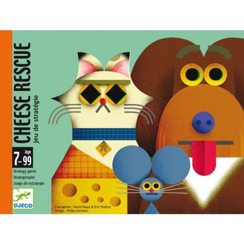 Kártyajáték - Sajtmentő - Cheese rescue
