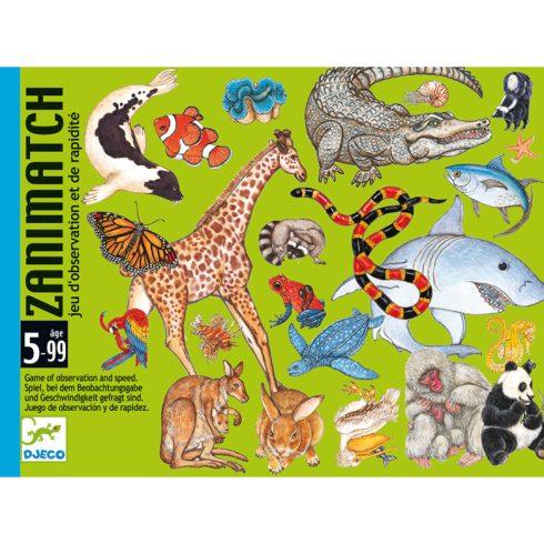 Kártyajáték- Állati kereső- Zanimatch
