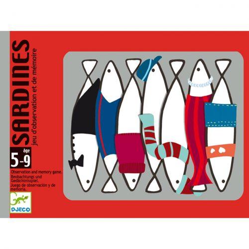 Kártyajáték - Hal halmozó - Sardines