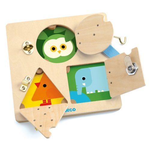 Képkirakó - Csiki-csuki - LockBasic , kézügyesség fejlesztő játék