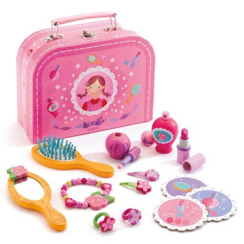 Djeco szerepjáték eszközök- Pipere készlet- My vanity case *