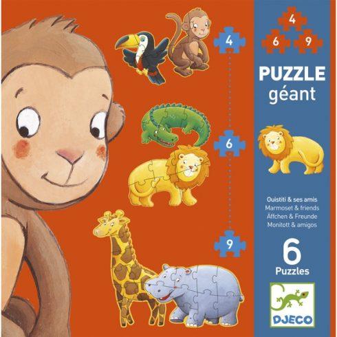 Óriás puzzle - Marmoset és barátai - Marmoset & friends