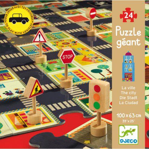 Óriás puzzle - A város - The city
