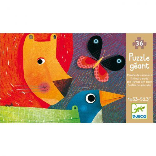 Óriás puzzle - Állati parádé - Animal Parade