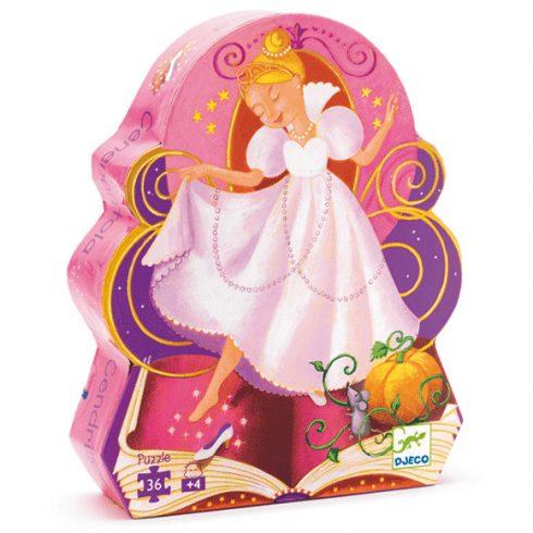 Formadobozos puzzle - Hamupipőke - Cinderella