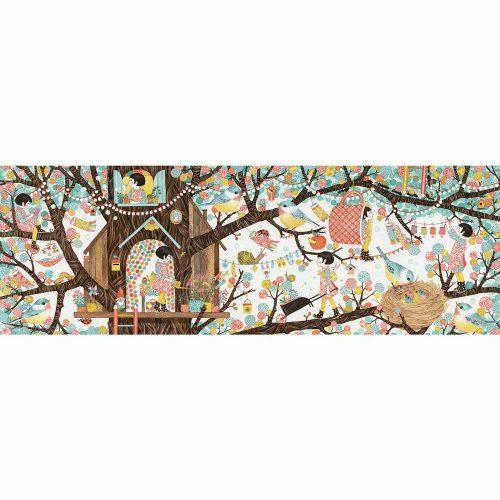 Művész puzzle - Fa ház, 200 db-os - Tree hause - FSC MIX