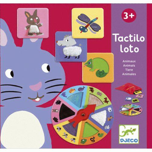 Társasjáték - Tapintgató - Tactilo lotto, animals