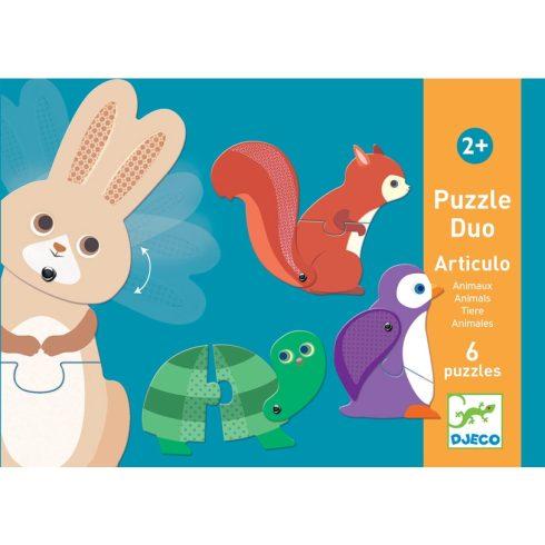 Párositó puzzle - Állatok - Articulo Animals