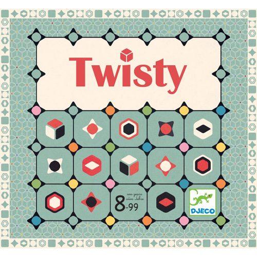 Társasjáték - Színkígyózó - Twisty