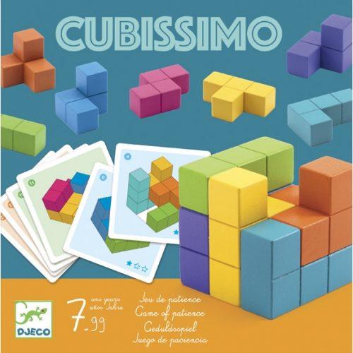 Logikai játék - Kockakirakó - Cubissimo
