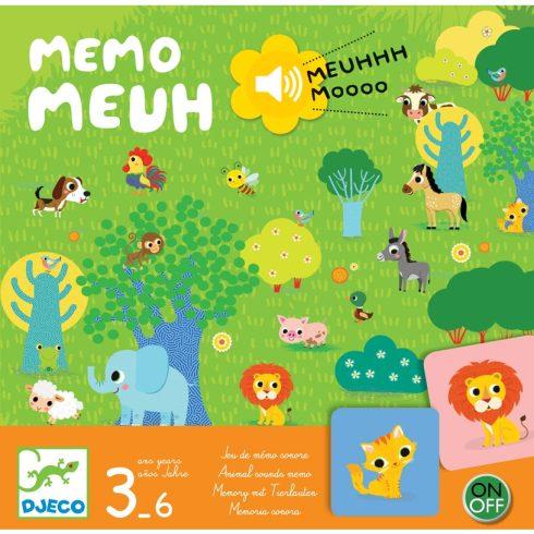 Társasjáték - Hangos - képes bujócska - Memo Meuh