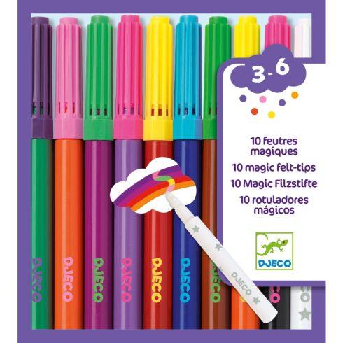 Filctoll készlet - Mágikus filcek - 10 magic felt-tips