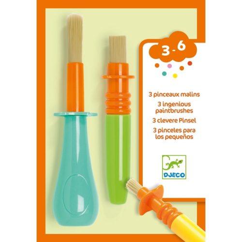 3 féle ügyes ecset gyerekeknek - 3 ingenious paintbrushes