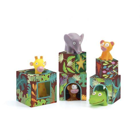 Toronyépítő - Maxi, szavannai állatok - Maxi Topanijungle