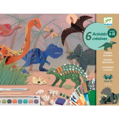 The world of dinosaurs- óriás kreatív készlet