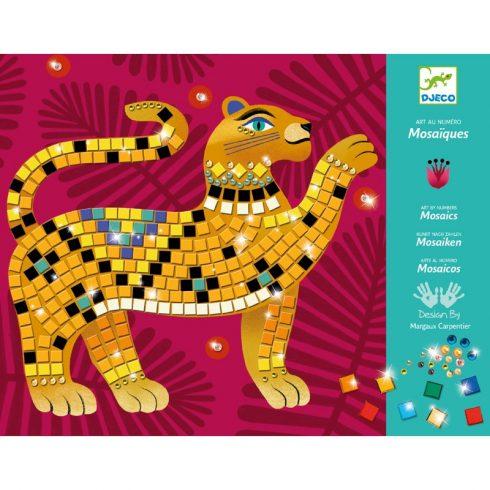 Művészeti műhely - A dzsungel mélyén mozaik készlet - Deep in the jungle