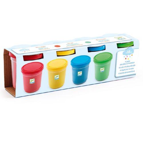 Gyurma - 4 szín pillegyurma - 4 tubs of play dough, kreatív játék