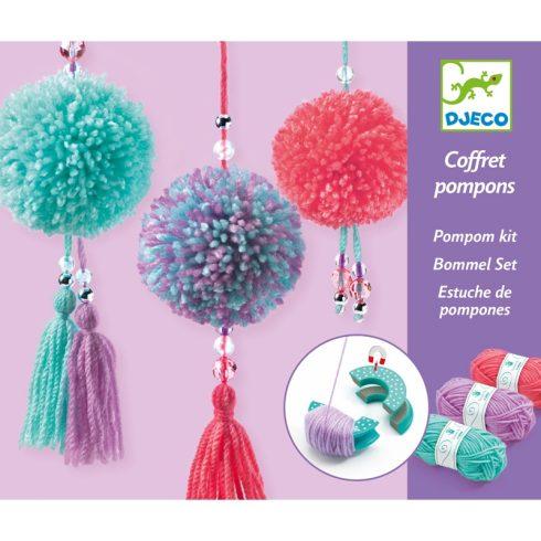 Pompom készítő - Pompom függődísz - Pendant Pompoms