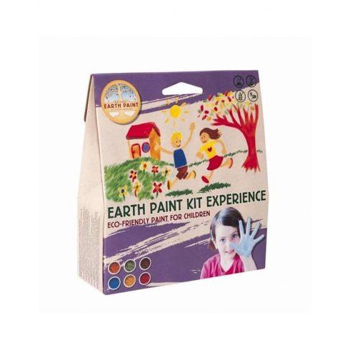 Vízfesték-ujjfesték induló csomag (6 szín) - induló szett (Natural Earth Paint)