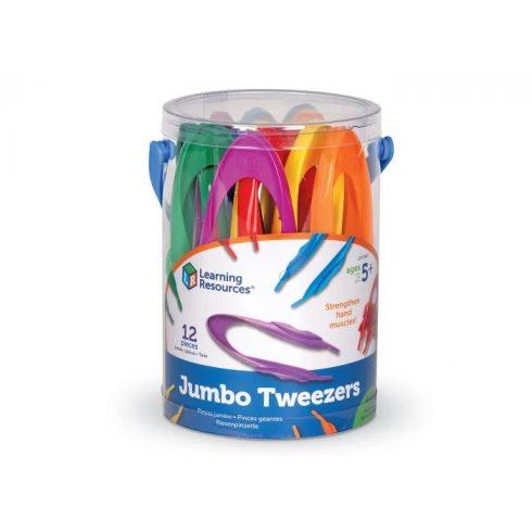12 db Jumbo Tweezers- kézügyesség fejlesztő csipesz
