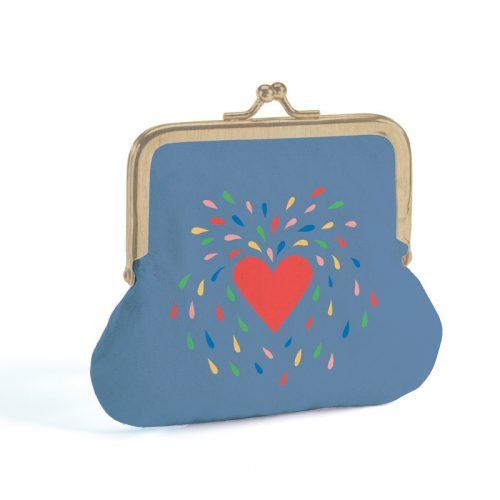 Pénztárca - Szív - Heart - Lovely purse