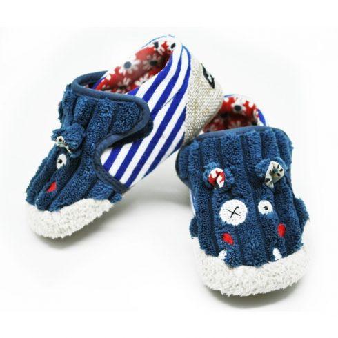 Bébi cipőcske - HIPPIPOS, a viziló, 6-12 hónapos korig