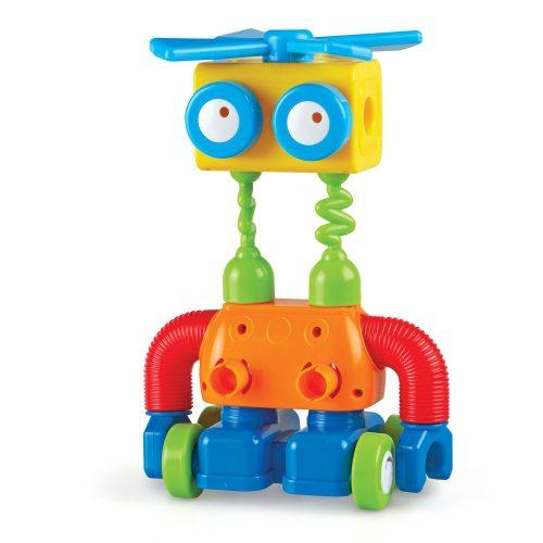 Robotépítő készlet kicsiknek - 1-2-3 Build It!™ Robot Factory