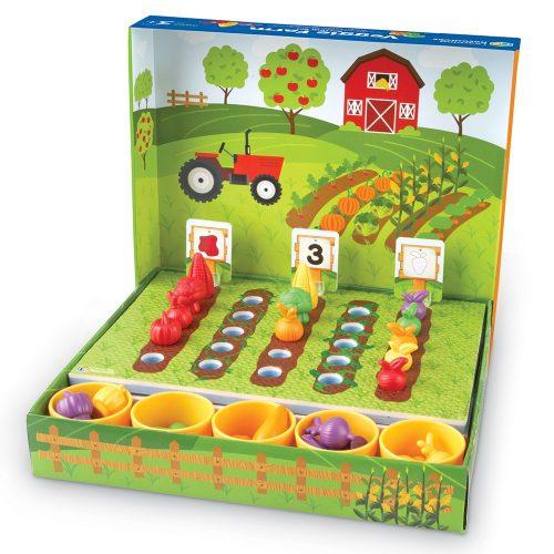 Veggie farm szortírozó készlet