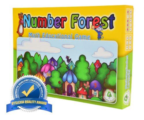 Számházak fejlesztőjáték- Number Forest
