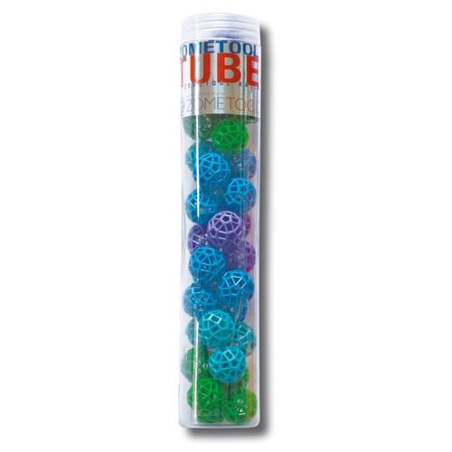Tudományos modellező készlet - Tube 34 Nodes Green/Blue